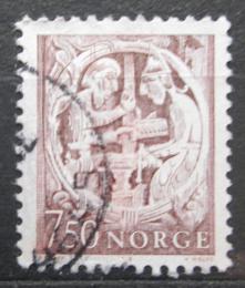 Poštovní známka Norsko 1976 Norské báje Mi# 718