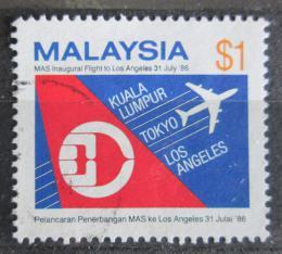 Poštovní známka Malajsie 1986 Letecká spoleènost MAS Mi# 343 Kat 5.50€