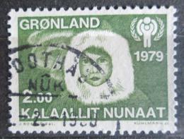 Poštovní známka Grónsko 1979 Mezinárodní rok dìtí Mi# 118