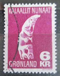 Poštovní známka Grónsko 1978 Lidové umìní, Tupilak Mi# 111