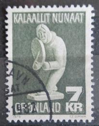 Poštovní známka Grónsko 1979 Umìní, Simon Kristoffersen Mi# 117