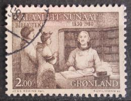 Poštovní známka Grónsko 1980 Veøejné knihovny, 150. výroèí Mi# 123