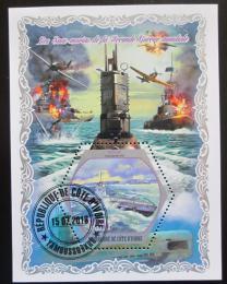 Poštovní známka Pobøeží Slonoviny 2018 Lodì Druhé svìtové války Mi# N/N