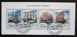 Poštovní známky Džibutsko 2018 Plachetnice Mi# N/N