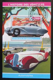 Poštovní známka Džibutsko 2015 Klasické automobily Mi# N/N