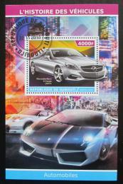 Poštovní známka Džibutsko 2015 Luxusní automobily Mi# N/N