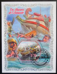 Poštovní známka Pobøeží Slonoviny 2018 Antické lodì Mi# N/N