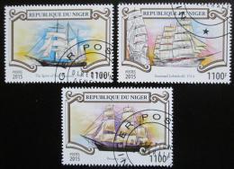 Poštovní známky Niger 2015 Plachetnice Mi# 3542-44 Kat 13€