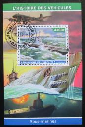 Poštovní známka Džibutsko 2015 Ponorky Mi# N/N