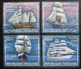 Poštovní známky Togo 2017 Plachetnice Mi# 8356-59 Kat 13€
