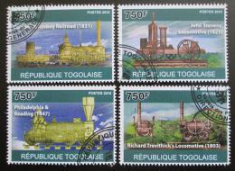 Poštovní známky Togo 2010 Lokomotivy Mi# 3759-62 Kat 12€