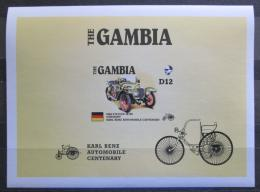 Poštovní známka Gambie 1986 Steiger neperf., vzácná Mi# Block 25 B
