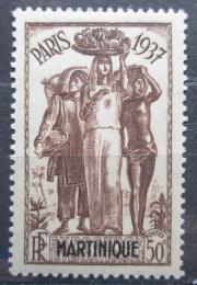 Poštovní známka Martinik 1937 Výstava v Paøíži Mi# 164