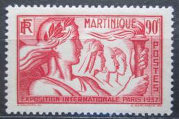 Poštovní známka Martinik 1937 Výstava v Paøíži Mi# 165