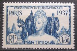 Poštovní známka Martinik 1937 Výstava v Paøíži Mi# 166