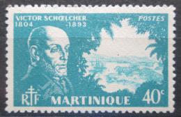 Poštovní známka Martinik 1945 Victor Schoelcher, politik Mi# 209