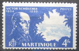 Poštovní známka Martinik 1945 Victor Schoelcher, politik Mi# 220