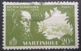 Poštovní známka Martinik 1945 Victor Schoelcher, politik Mi# 225
