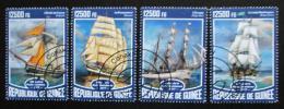 Poštovní známky Guinea 2017 Plachetnice Mi# 12421-24 Kat 20€