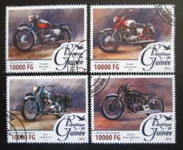 Poštovní známky Guinea 2016 Motocykly Mi# 11691-94 Kat 16€