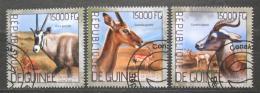 Poštovní známky Guinea 2014 Gazely Mi# 10359-61 Kat 18€