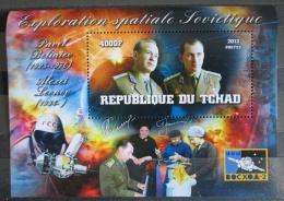 Poštovní známka Èad 2013 Sovìtští kosmonauti, prùzkum vesmíru Mi# N/N
