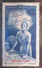 Poštovní známka Francouzská Indoèína 1942 Týden dárcovství Mi# 266