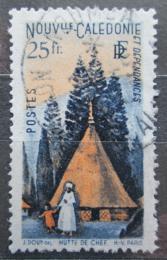 Poštovní známka Nová Kaledonie 1948 Srub Mi# 344