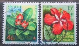 Poštovní známky Nová Kaledonie 1958 Kvìtiny Mi# 361-62