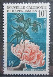 Poštovní známka Nová Kaledonie 1959 Moøská fauna Mi# 366