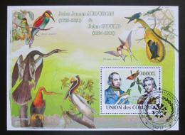Poštovní známka Komory 2009 Ptáci, Audubon Mi# Block 457 Kat 15€