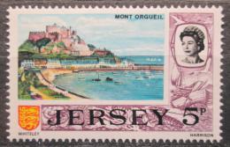 Poštovní známka Jersey, Velká Británie 1970 Zámek a pøístav Mi # 42