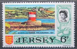 Poštovní známka Jersey, Velká Británie 1970 Vìž Martello Mi # 43