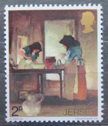 Poštovní známka Jersey, Velká Británie 1971 Umìní, Edmond Blampied Mi # 57