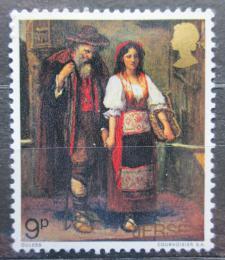 Poštovní známka Jersey, Velká Británie 1971 Umìní, Walter William Ouless Mi # 60