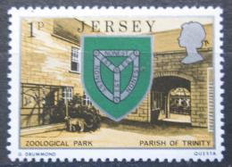 Poštovní známka Jersey, Velká Británie 1976 Zoologická zahrada Mi # 132