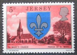 Poštovní známka Jersey, Velká Británie 1976 Kostel svaté Marie Mi # 133
