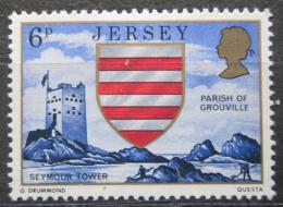 Poštovní známka Jersey, Velká Británie 1976 Vìž Seymour Mi # 134