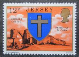 Poštovní známka Jersey, Velká Británie 1976 Ruiny pevnosti Grosnez Mi # 140
