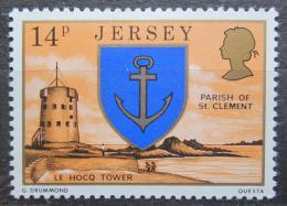 Poštovní známka Jersey, Velká Británie 1976 Vìž Le Hocq Mi # 142