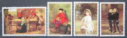 Poštovní známky Jersey, Velká Británie 1979 Umìní Mi # 203-06