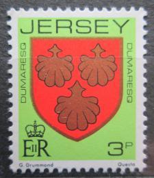 Poštovní známka Jersey, Velká Británie 1981 Erb rodiny Dumaresq Mi # 245 A