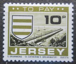 Poštovní známka Jersey, Velká Británie 1978 Znak St. Martin, doplatní Mi # 26