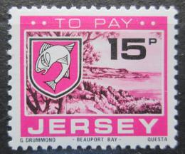 Poštovní známka Jersey, Velká Británie 1978 Znak St. Brelade, doplatní Mi # 29