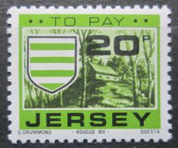 Poštovní známka Jersey, Velká Británie 1978 Znak Grouville, doplatní Mi # 30