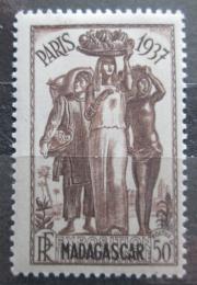 Poštovní známka Madagaskar 1937 Výstava v Paøíži Mi# 243