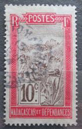 Poštovní známka Madagaskar 1908 Místní krajina Mi# 78