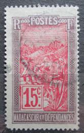 Poštovní známka Madagaskar 1916 Místní krajina Mi# 79