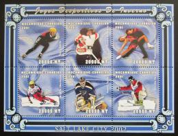 Poštovní známky Mosambik 2001 ZOH Salt Lake City Mi# 1970-75 Kat 17€