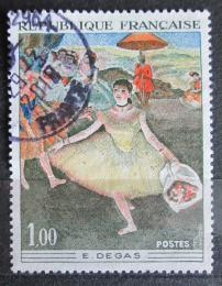 Poštovní známka Francie 1970 Umìní, Degas Mi# 1732